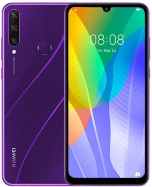 Huawei Y6P phantom purple