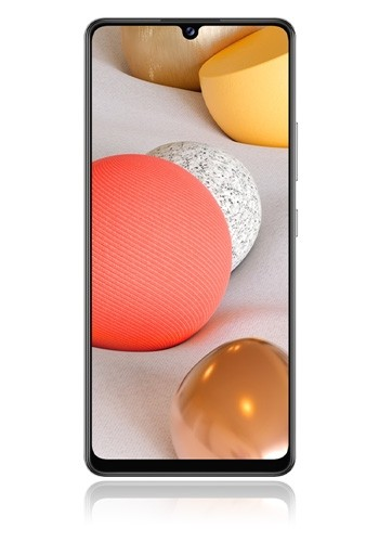Samsung Galaxy A42 5G prism dot white