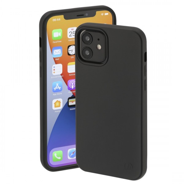 """Cover """"Finest Feel"""" für IPhone 12/12 Pro black"""